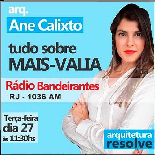 Rádio Bandeirantes - Arquitetura Resolve