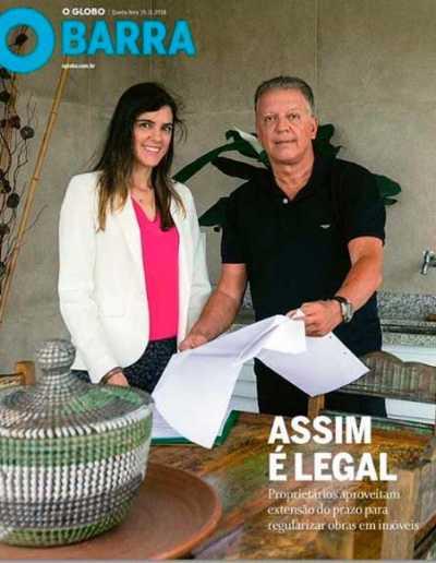 Arquitetura Resolve no jornal O Globo