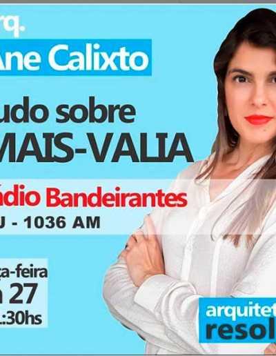 Entrevista Arquitetura Resolve na Rádio Bandeirantes