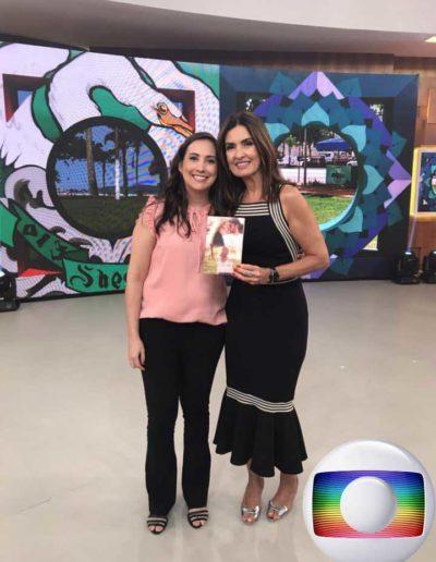 """Programa de TV """"Encontro com Fátima Bernardes"""" da Globo"""