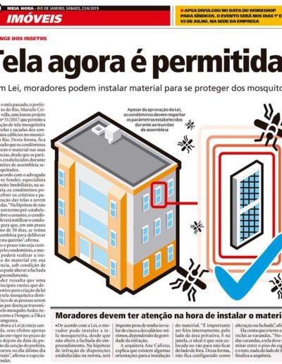 Arquitetura Resolve no jornal Meia Hora